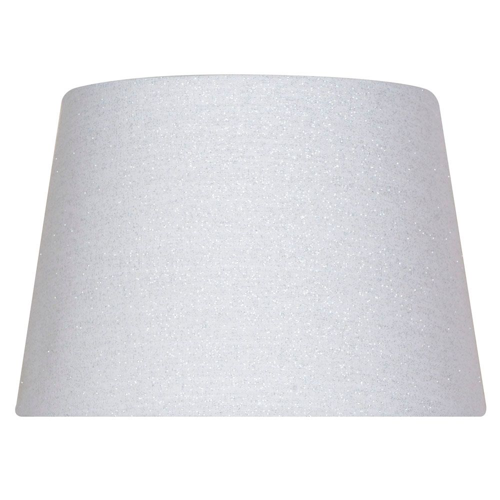 7 Inch  White Drum Accent Shade