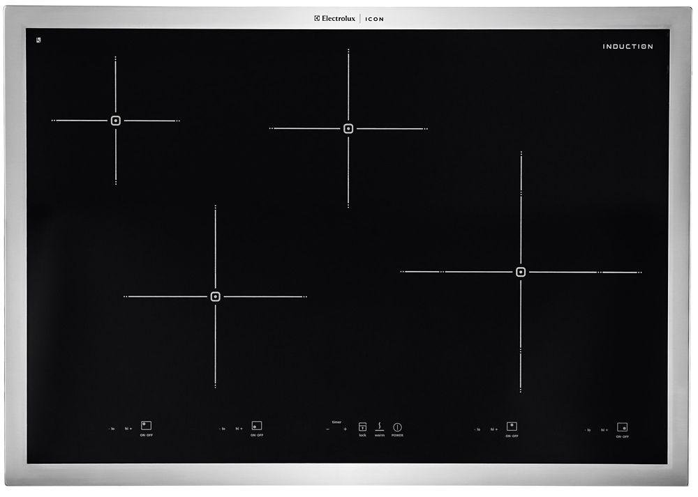30-inch Smoothtop Induction Cooktop in Stainless Steel
