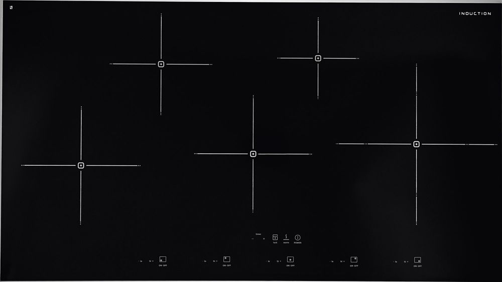 36 Inch Smoothtop Induction Cooktop in Stainless Steel
