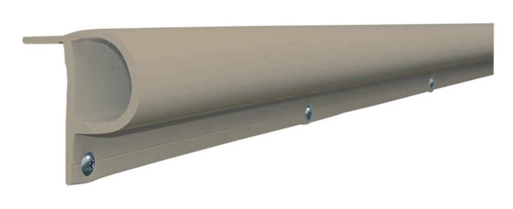 Dock Edge 16 ft. Small P Profile Dock Bumper in Grey