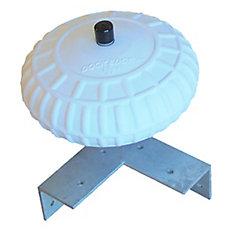 12-inch Dock Corner Wheel
