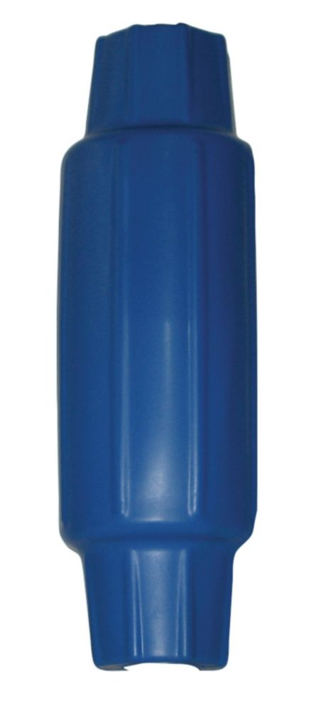 Butoir torpille pour poteau, bleu roi