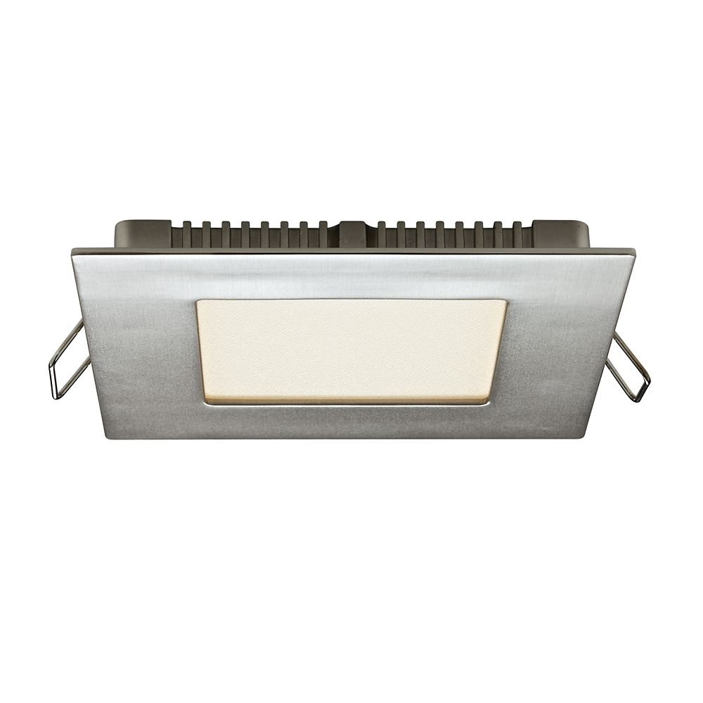 ... Inches Recessed Square LED Panel Light | The Home Depot Canada