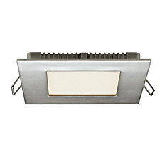 Illume Ultraslim 4-inch Recessed Square LED Panel Light