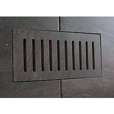 Les couvercles porcelaines de ventilation fait pour correspondre Fragment Graphite. Taille 5