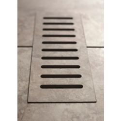 Aod Stone Porcelain vent cover made to match Milagro Dune. Size - 5-inch x 11-inch