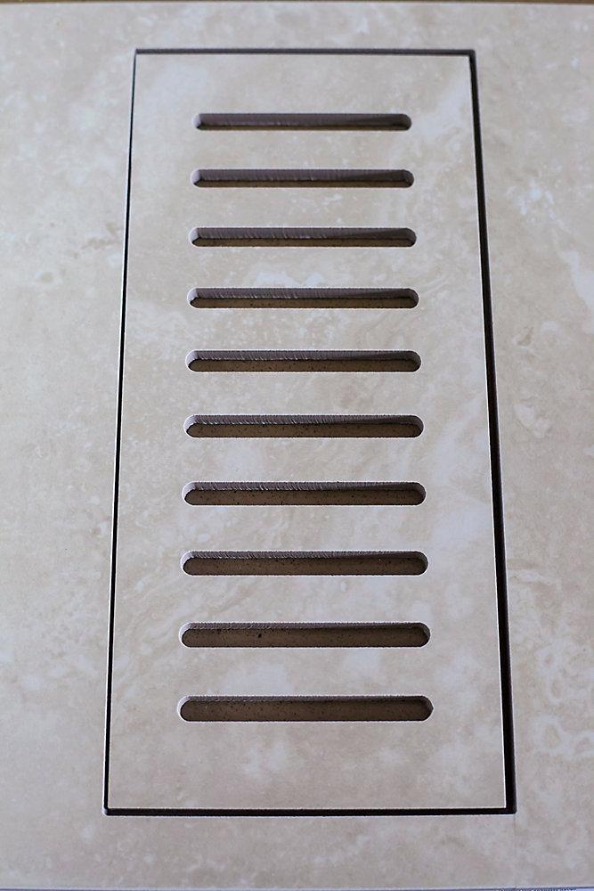 """Les couvercles porcelaines de ventilation fait pour correspondre Sydney Ivory. Taille  5"""" x 11"""""""