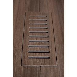 """Aod Stone Les couvercles porcelaines de ventilation fait pour correspondre Walnut Plank. Taille  5"""" x 11"""""""