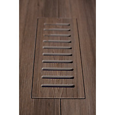 Les couvercles porcelaines de ventilation fait pour correspondre Walnut Plank. Taille 4