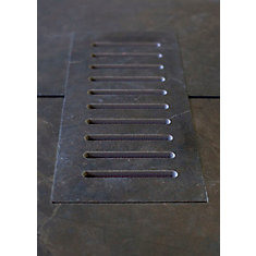 Ceramic vent cover made to match City Scape tile. Size - 5-inch x 11-inch