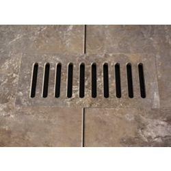 """Aod Stone Les couvercles céramiques de ventilation fait pour correspondre  Addison Place Studio Grey. Taille 4"""" x 11"""""""