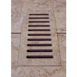 """Aod Stone Les couvercles céramiques de ventilation fait pour correspondre Lagos Beige. Taille 5"""" x 11"""""""