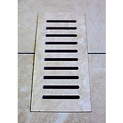 """Aod Stone Les couvercles céramiques de ventilation fait pour correspondre Astral Grey. Taille  5"""" x 11"""""""
