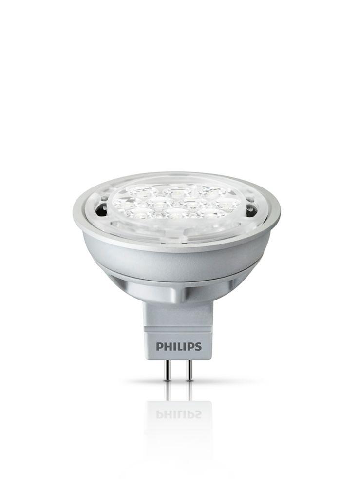 MR16 DEL à faisceau projecteur d'intérieur 6,5 W  - Luminosité Chaude - Lumière Gradable