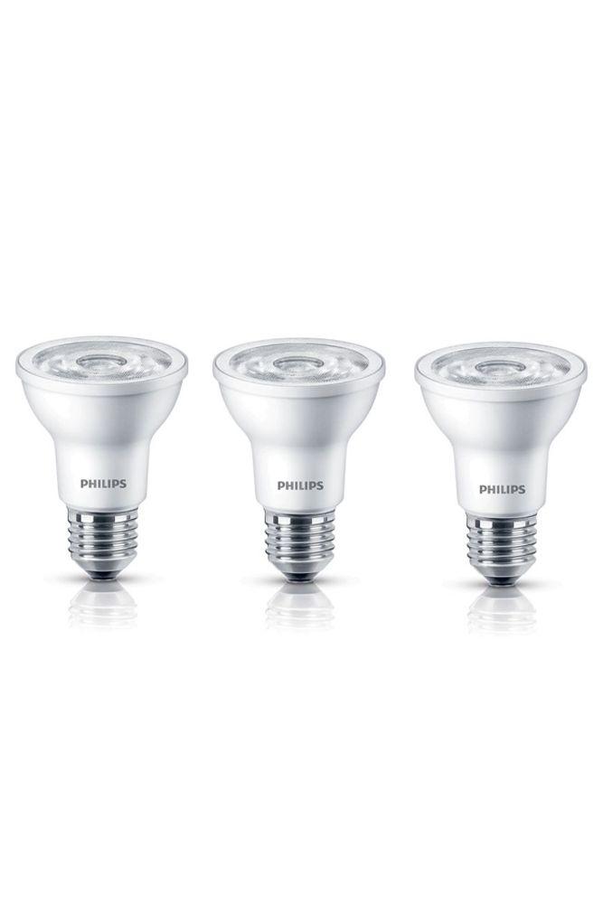 LED 6W = 50W PAR20 Daylight (5000K) 3 Pack