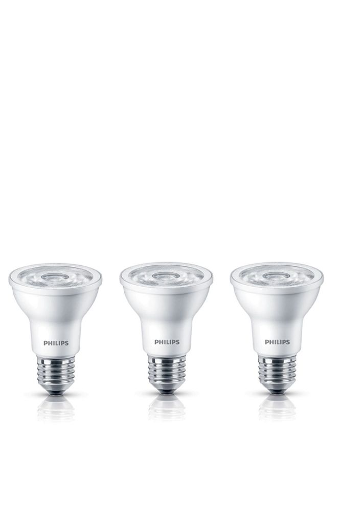 LED 6W = 50W PAR20 Soft White (2700K) 3 Pack