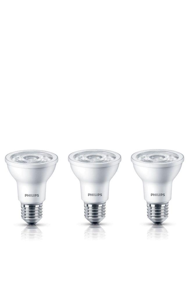 PAR20 DEL à faisceau projecteur d'intérieur 6 W  - Lumière blanc doux 2 700 K