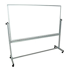 46-inch x 77-inch Double Sided Magnetic White Board