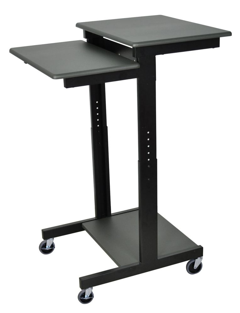 Mobile Adj Height Presentations Workstation