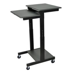 Luxor Mobile Adj Height Presentations Workstation