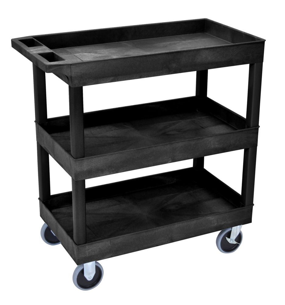 18 x 32 Tub Cart 3 shelves