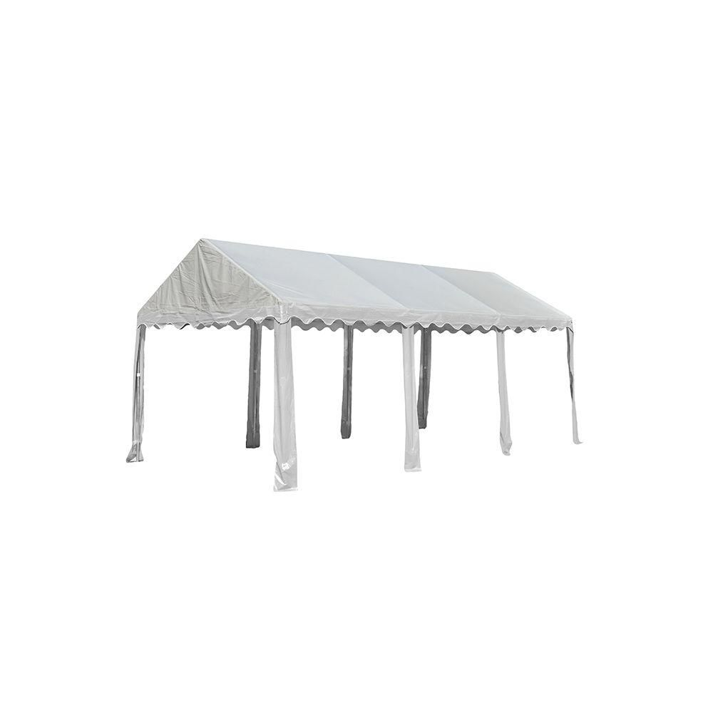 ShelterLogic 10 ft. x 20 ft. Party Tent in White