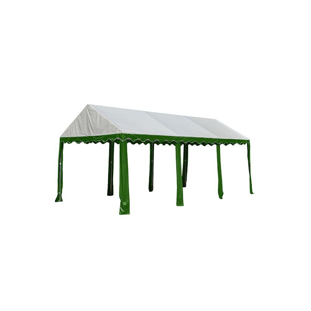 Party Tent 10x20 Feet.  - Green/White