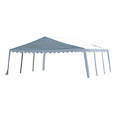 20 ft. x 20 ft. Party Tent in White