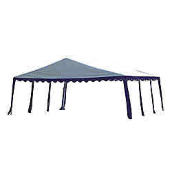 ShelterLogic 20 ft. x 20 ft. Party Tent in Blue/White