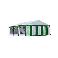 20 ft. x 20 ft. Canopy Enclosure Kit in Green and White