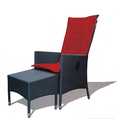 Excellent Lily Reclining Patio Chair With Ottoman Forskolin Free Trial Chair Design Images Forskolin Free Trialorg