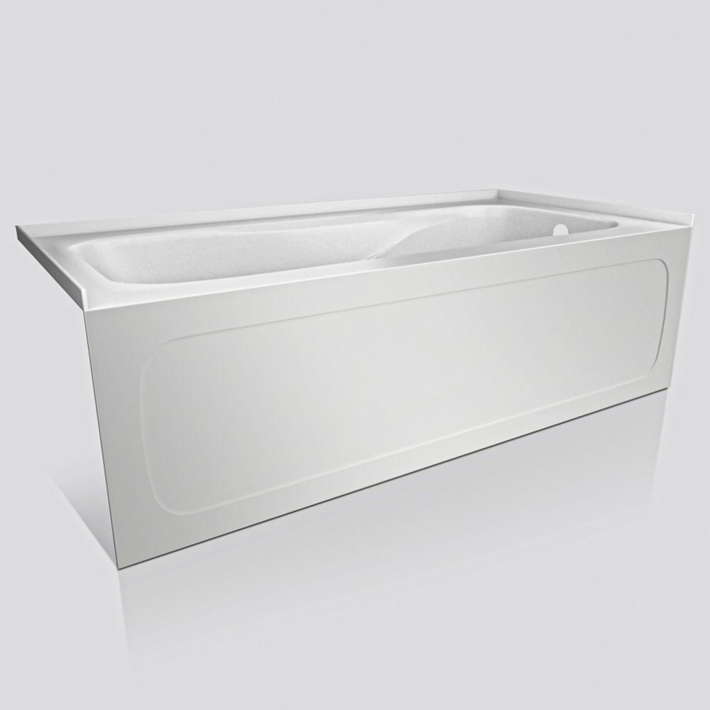Pro 5 Feet 6-Inch Acrylic Drop-in Non Whirlpool Bathtub