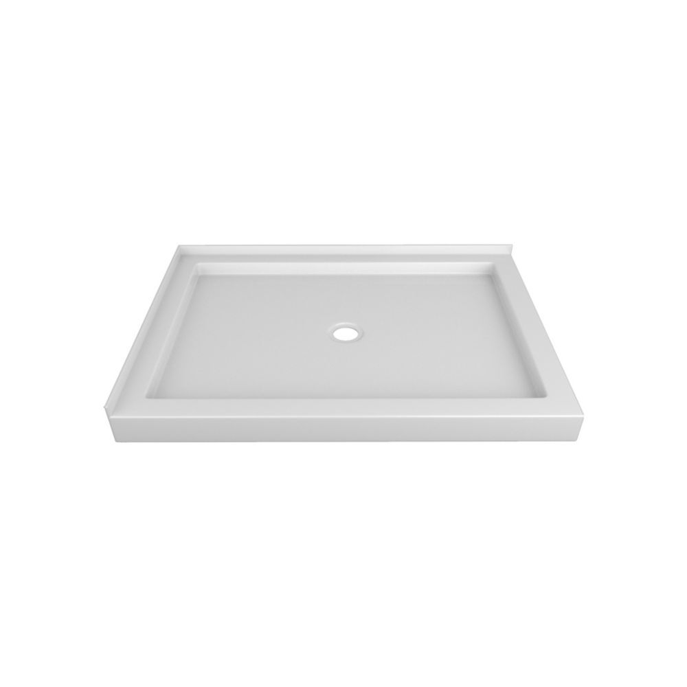 48 x 32 In. Double Threshold Right-Hand Shower Base
