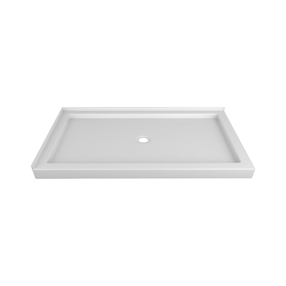 60 x 32 In. Double Threshold Right-Hand Shower Base
