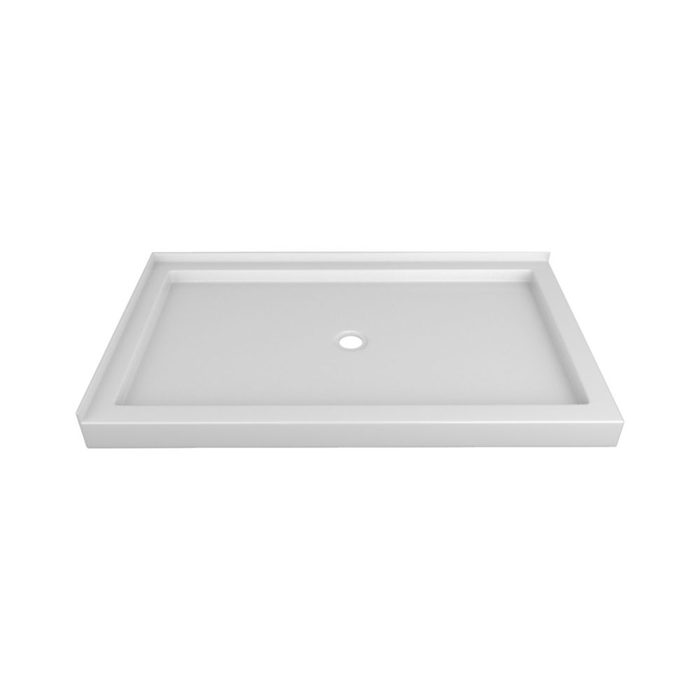 60 x 36 In. Double Threshold Right-Hand Shower Base