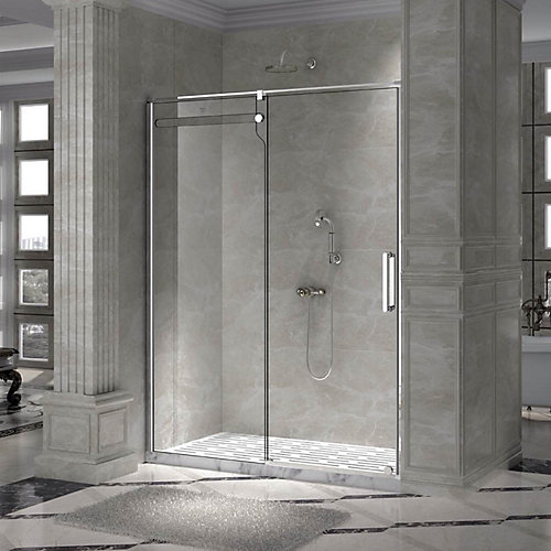 shower chrome door shop lineaaqua x design kinetic sliding b frameless panel spark doors pr