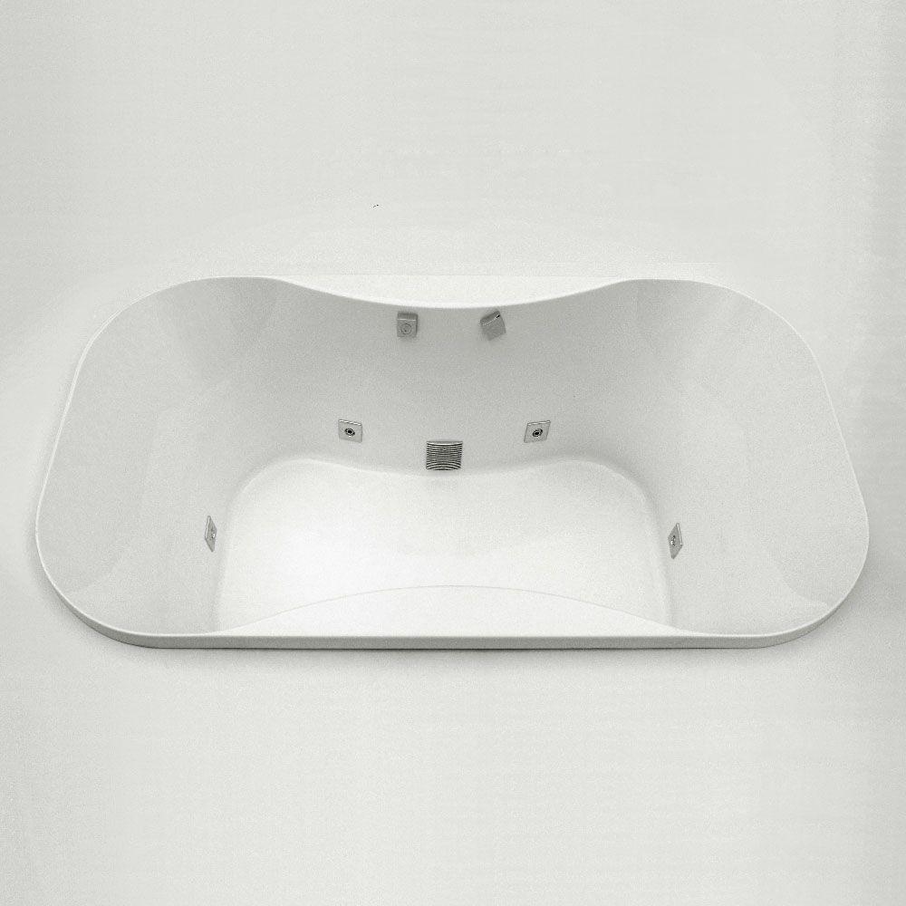 Bordeaux 5 Feet 6-Inch Drop-in Bathtub with Vigor+ Spa System