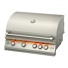 72,000 BTU 32-inch 5-Burner Stainless Steel Built-In Propane/Gas BBQ