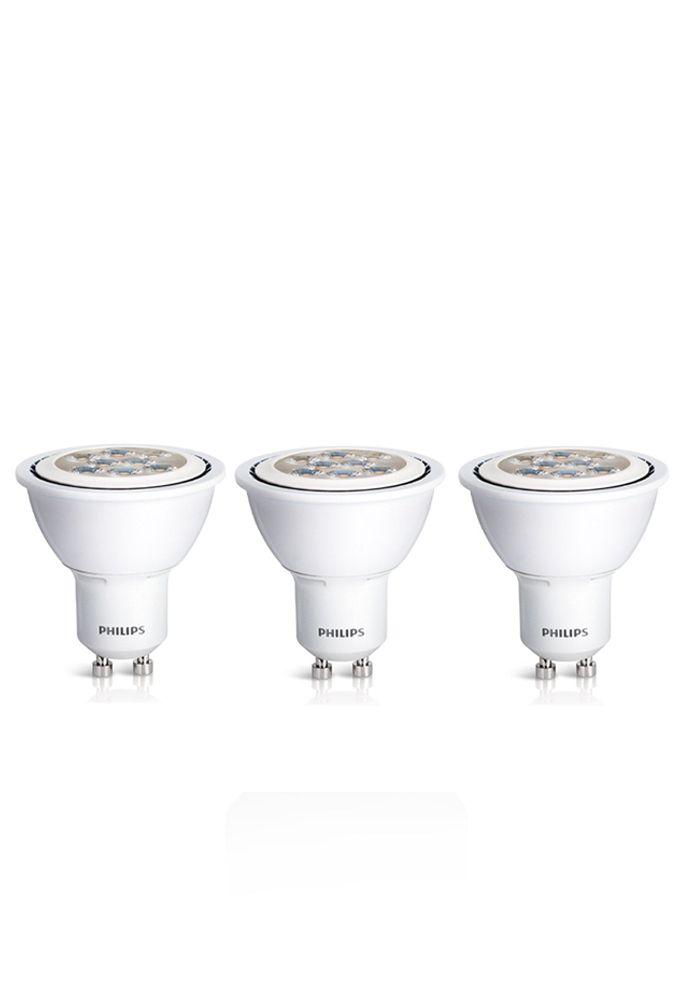 LED 7W = 50W GU10 Daylight (5000K) 3 Pack