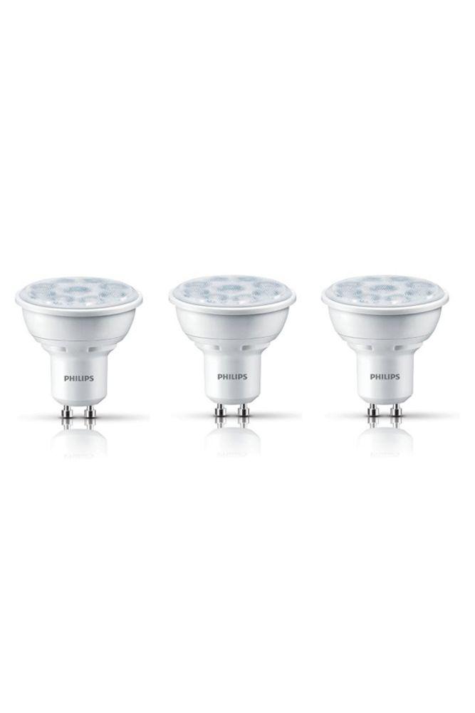 LED 5W = 50W GU10 Warm Glow (2700K - 2200K) 3 Pack