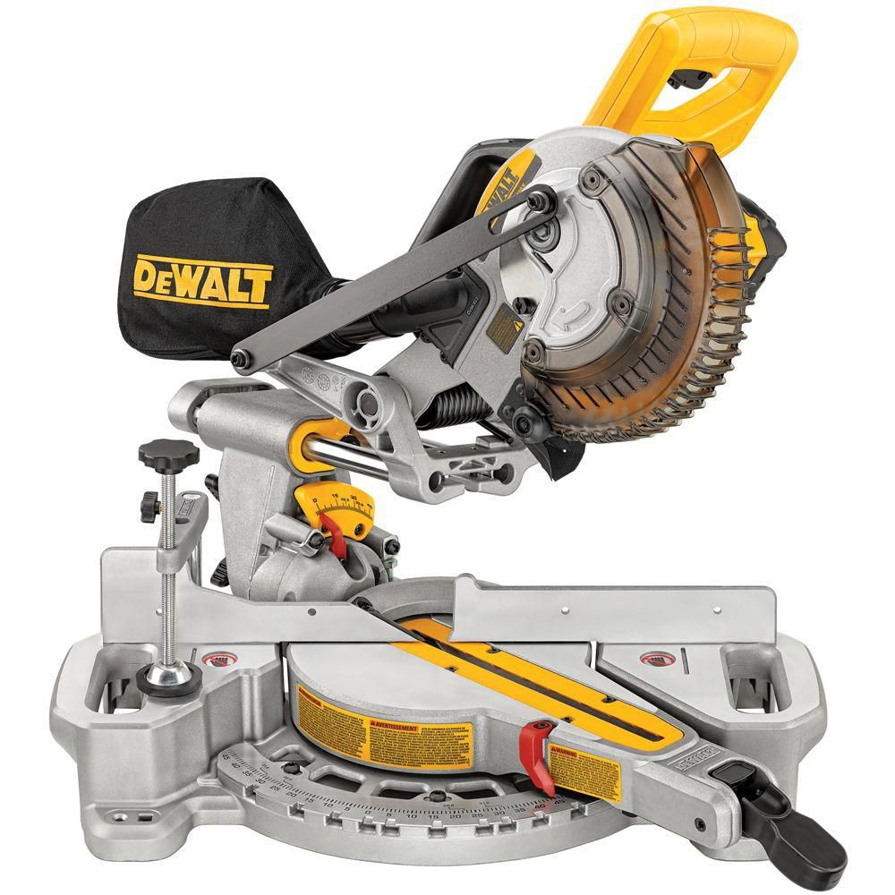 20V Max 7.25-inch Cordless Sliding Compound Miter Saw Kit