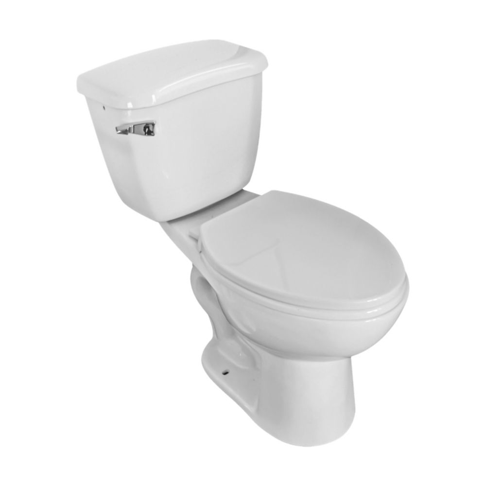 CARLY0025H  flush simple, 2 pièces toilettes