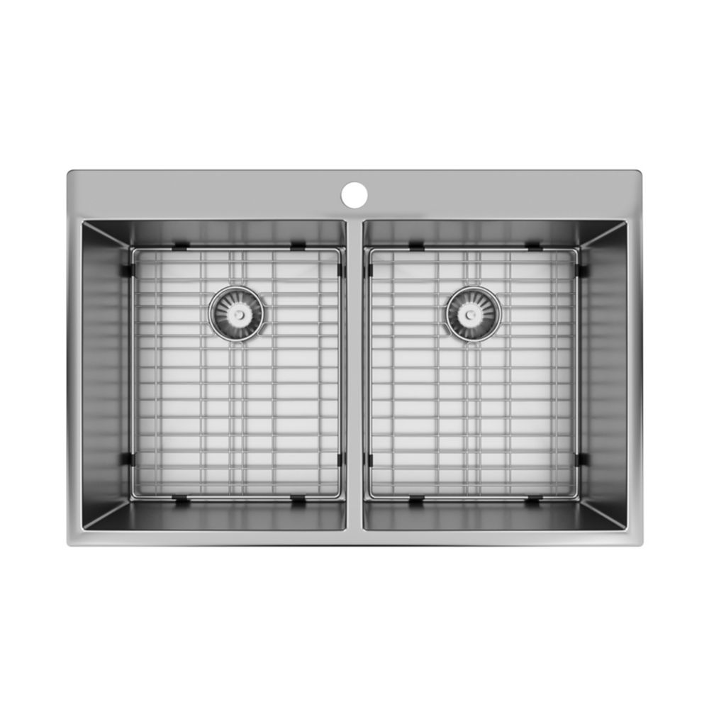 Valley Double Bowl Kitchen Sink The Home Depot Canada