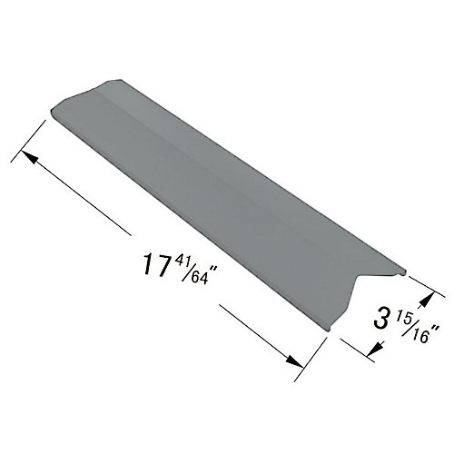 Stainless Steel Heat Plate for Broil Chef, Bond, Tera Gear and President's Choice for Gas Grill Models