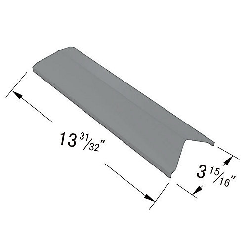 Stainless Steel Heat Plate for BOND, Broil Chef, Perfect Flame, President's Choice and Tera Gear Gas Grill Models
