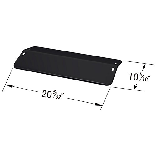 Porcelain Steel Heat Plate for Life @ Home Gas Grill Models