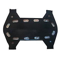 Plaque de chaleur en acier émaillé à la porcelaine pour barbecue au gaz BOND, BroilChef, Everyday Essentials, Life@Home et Tera Gear