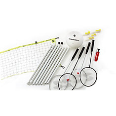 4-Player Badminton / Volleyball Combo Set