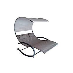 Vivere Double Chaise Rocker (Sienna)