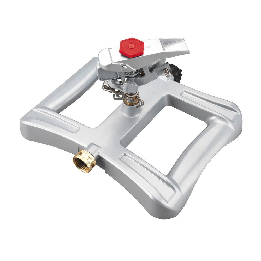 Rainwave Metal Pro Series Impulse Sprinkler on Sled Base